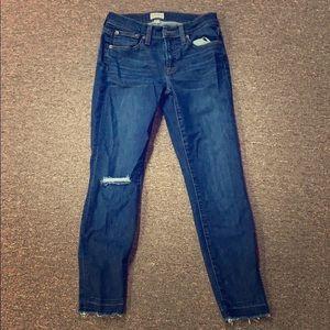 Barely worn J. Crew toothpick jeans